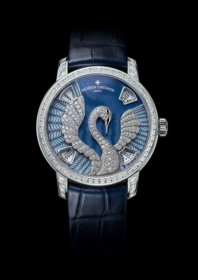 Vacheron Constantin Métiers d'Art Eloge de la nature Swan watch 2015