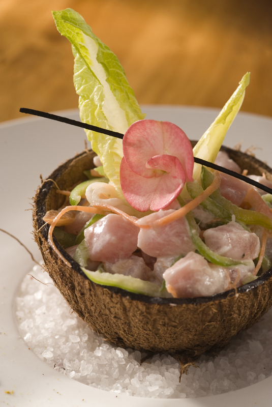 Vahine Island Private Resort Restaurant French cuisine with a Polynesian twist