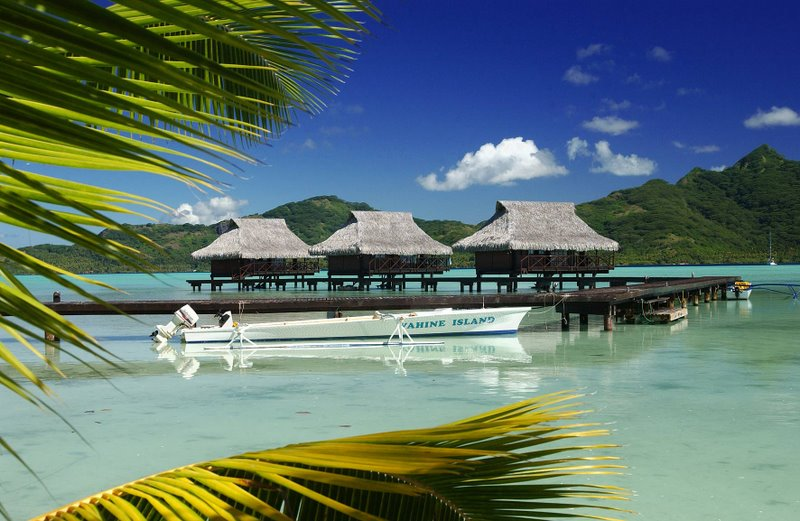 Vahine Island Private Resort in French Polynesia-boats