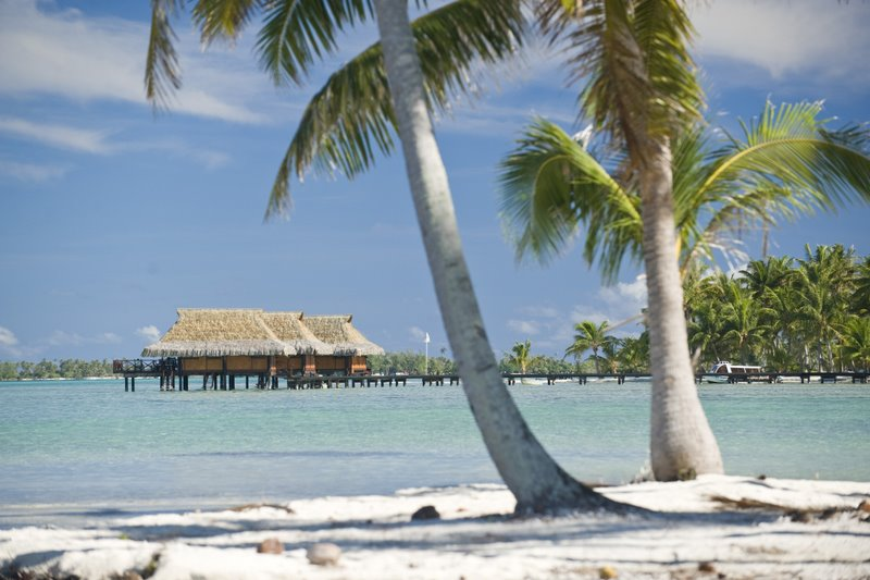 Vahine Island Private Resort in French Polynesia-bungalows