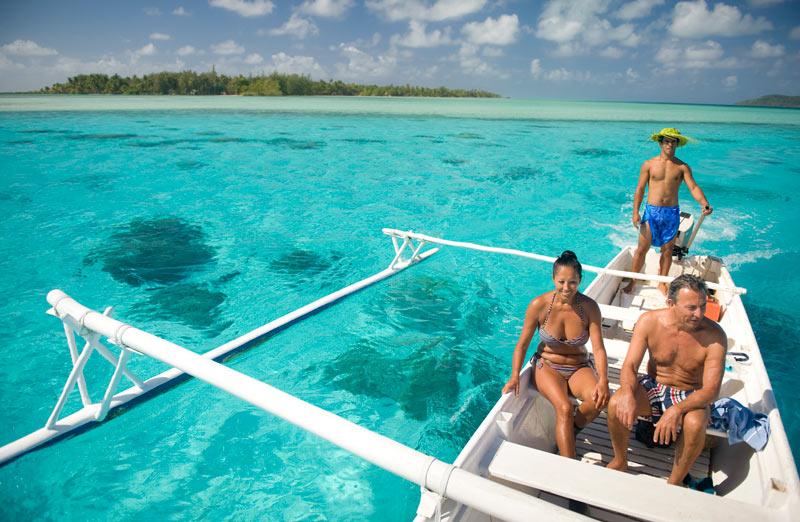 Vahine Island in French Polynesia-activities
