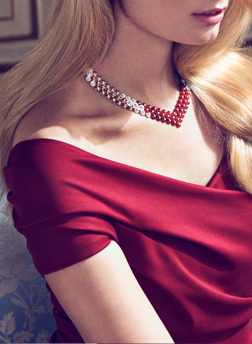 Van Cleef &  Arpels Bouton d'Or necklace--