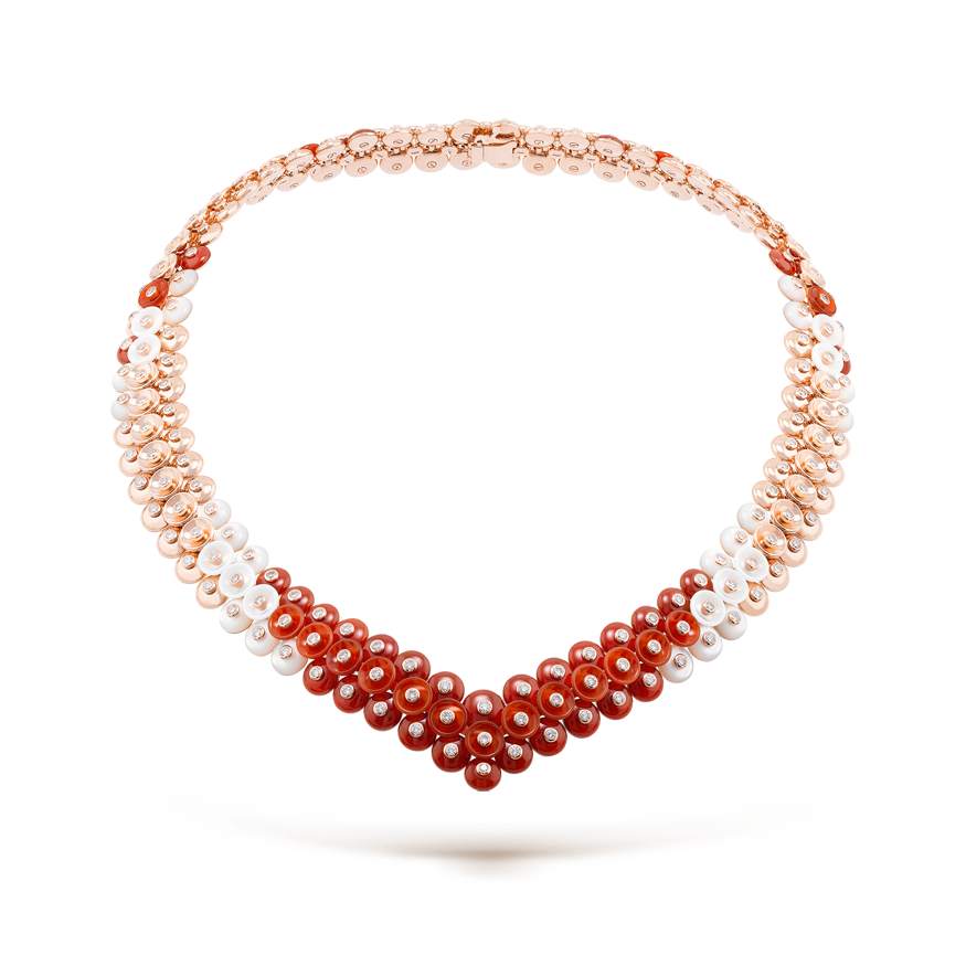 Van Cleef &  Arpels Bouton d'Or necklace
