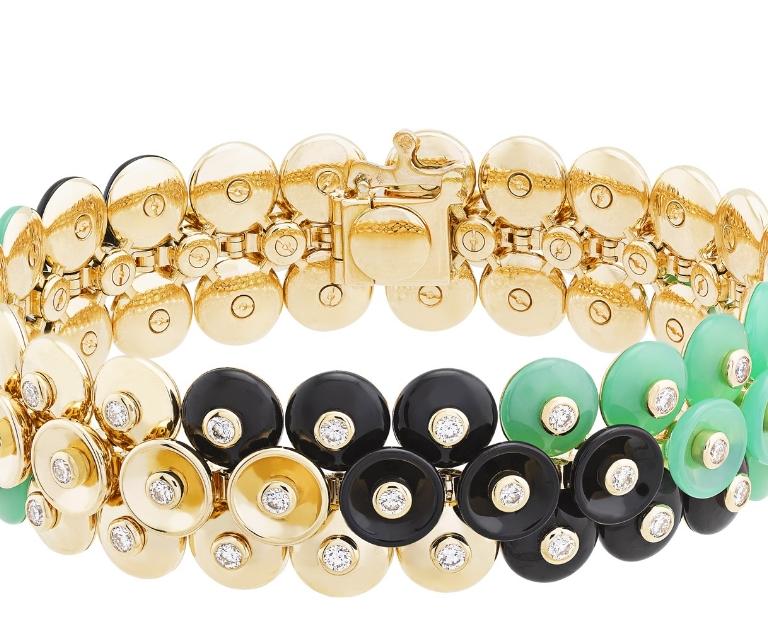 Van Cleef & Arpels Bouton d'or bracelet