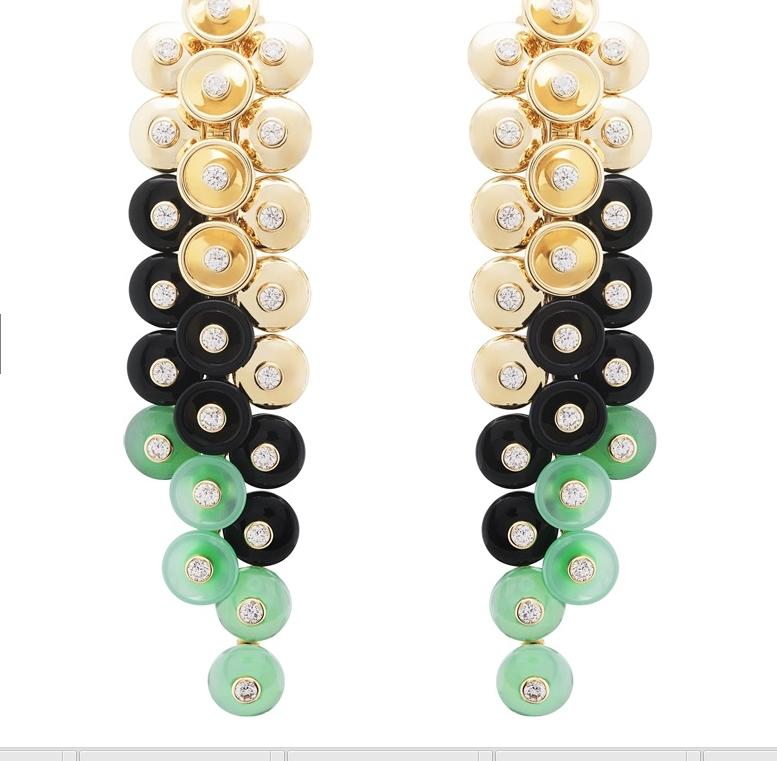 Van Cleef & Arpels Bouton d'or earrings