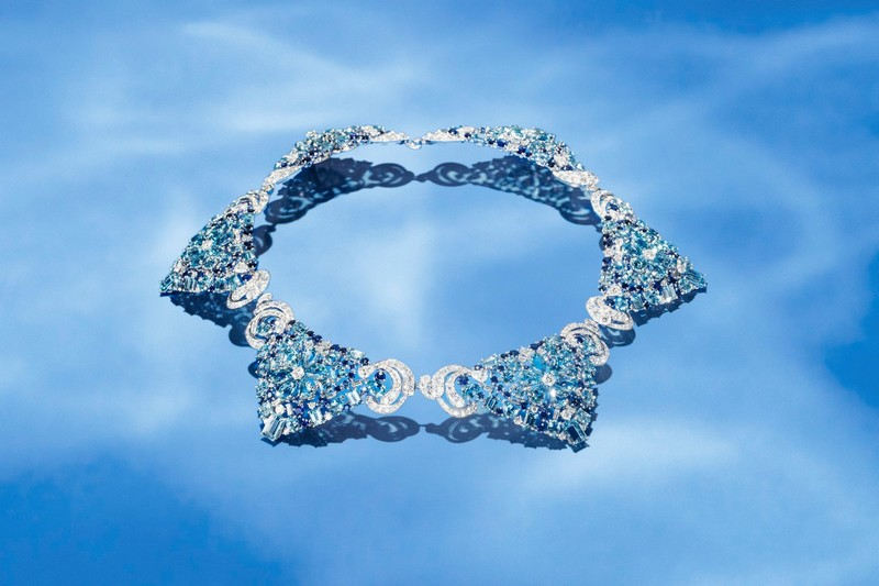 Van Cleef & Arpels Lagune Précieuse necklace -Seven Seas High Jewelry collection
