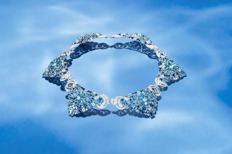 Van Cleef & Arpels Lagune Précieuse necklace -Seven Seas High Jewelry collection
