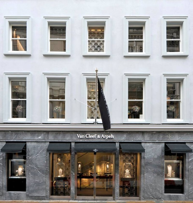 Van Cleef & Arpels boutique at 9 New Bond Street Londonvan-