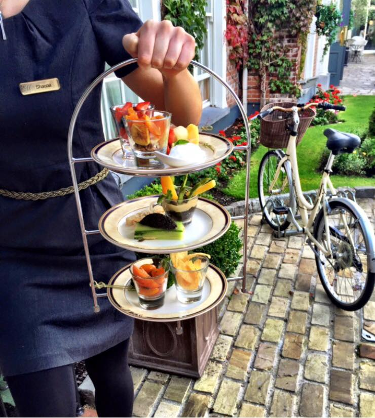 Vegan Afternoon Tea - Hayfield Manor, Cork, Ireland