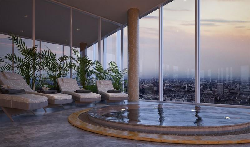 Versace Home for London's Aykon Nine Elms fashion residences-