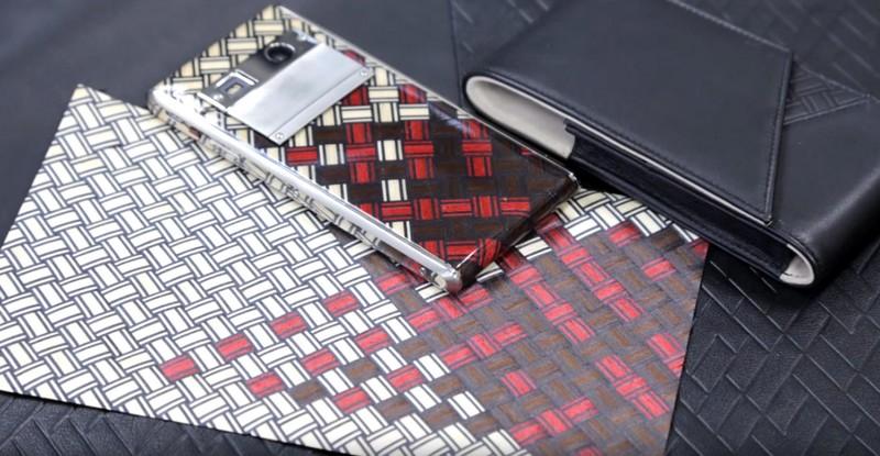 Vertu - Aster Yosegi Wood limited edition luxury phone---