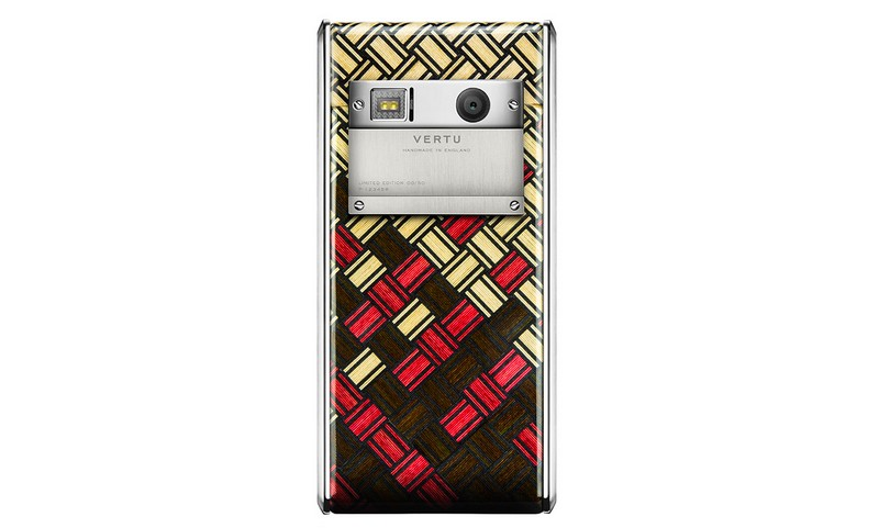 Vertu - Aster Yosegi Wood limited edition luxury phone-2015