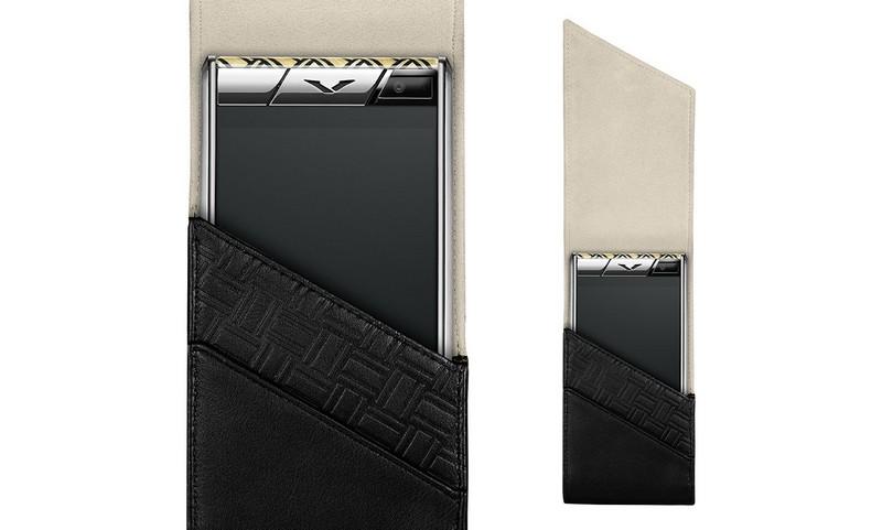 Vertu - Aster Yosegi Wood limited edition luxury phone-case