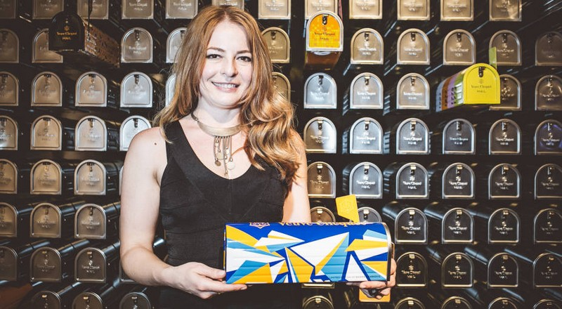 Veuve Clicquot Mailbox-2015-Eileen Ugarkovic, the International Winner of the Veuve Clicquot Re-Creation