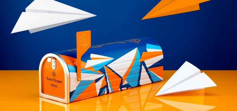 Veuve Clicquot Mailbox-Eileen Ugarkovic, the International Winner of the Veuve Clicquot Re-Creation -