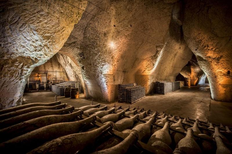 Veuve Clicquote cellars