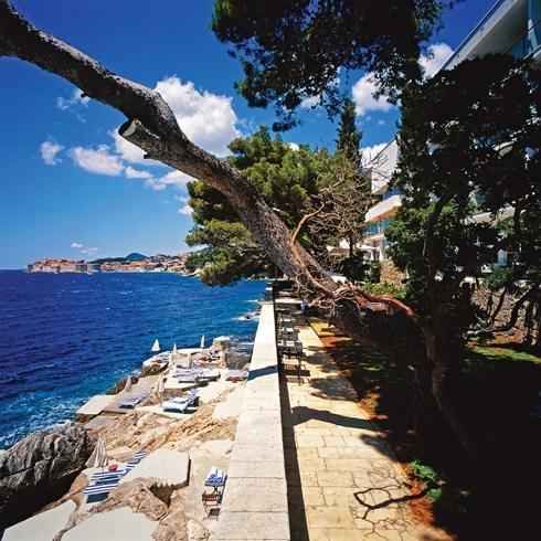 Villa Dubrovnik, Dubrovnik, Croatia-Lunch Restaurant Giardino