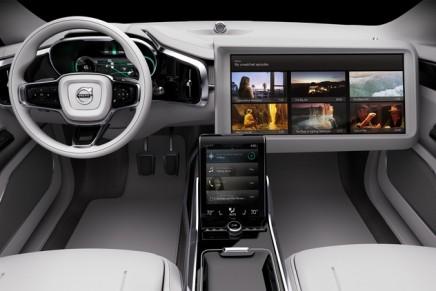 Volvo Cars unveiled Concept 26 – a futuristic concept for autonomous cars