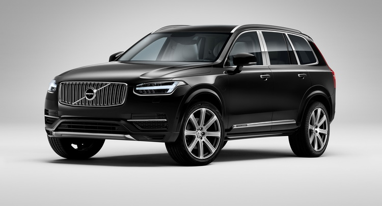 Volvo XC90 'Excellence' to be unveiled at Shanghai Auto Show