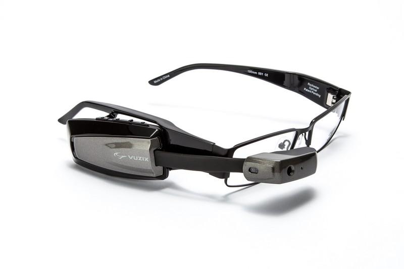 Vuzix M100 Smart Glasses with Prescription Safety Glasses-2015