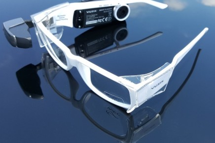 Vuzix M100 Smart Glasses with Prescription Safety Glasses to help remove any barriers to smart glasses adoption