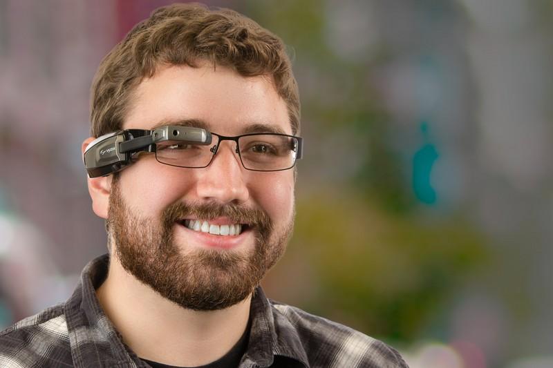 Vuzix M100 Smart Glasses with Prescription Safety Glasses