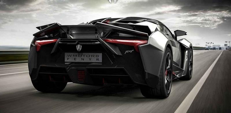 W Motors Fenyr SuperSport hypercar-
