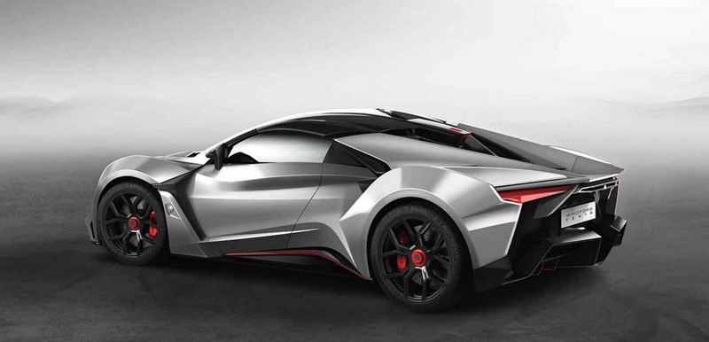 Just Another High Performance Luxury Sports Car W Motors Fenyr