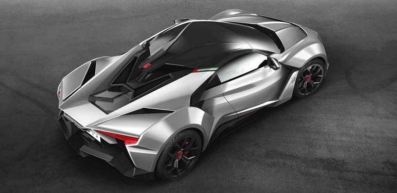 W Motors Fenyr SuperSport hypercar-aerial
