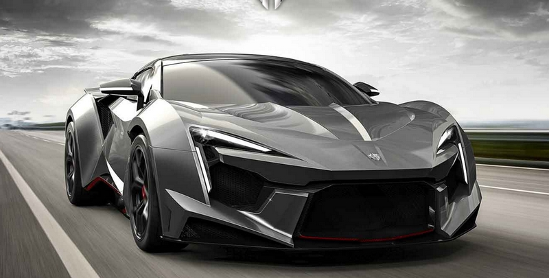 W Motors Fenyr SuperSport hypercar-front