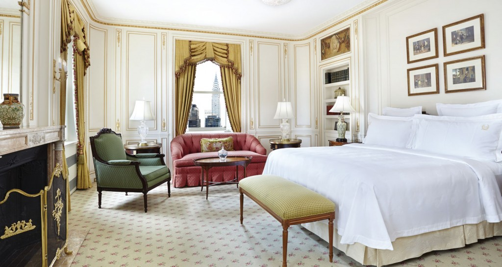 Waldorf astoria and james beard foundation to create the for Room decor union city