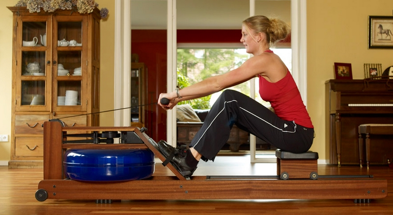 WaterRower fitness equipment--