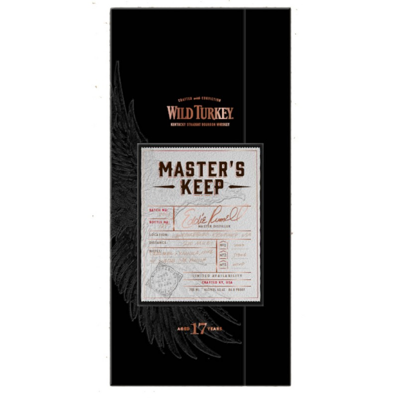 Wild Turkey Masters Keep Limited Edition- label