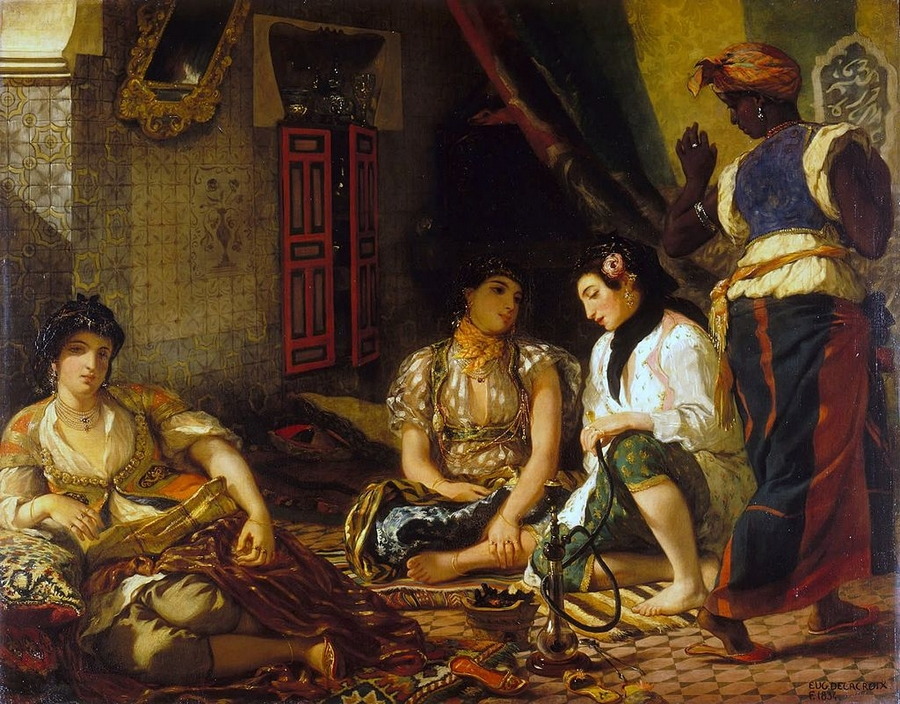 Women of Algiers Delacroix