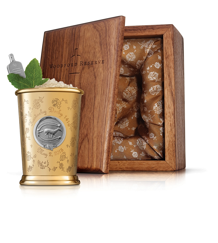 Woodford Reserve - $1,000 Kentucky Derby Mint Julep Cup-winners circle cup