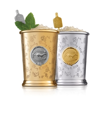 Woodford Reserve Teams Up with Fashion & Mixology's Most Notable Names to Create $1,000 Kentucky Derby Mint Julep Cup