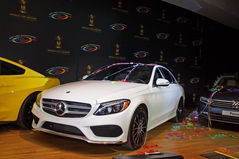 World Car Awards 2015-Mercedes-Benz C-Class