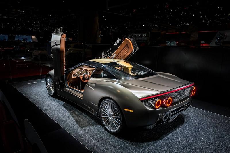 World Debut for The Spyker C8 Preliator-GenevaMotorShow2016-rear