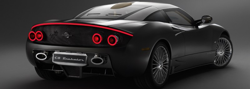 World Debut for The Spyker C8 Preliator