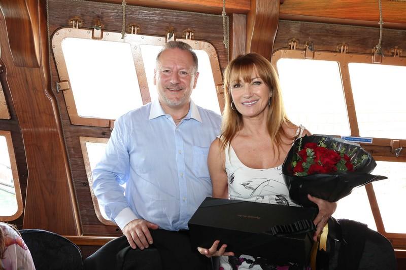 World of Diamonds - Lunch at BlueAlbatross - Jane Seymour-