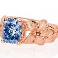 World of Diamonds - The Jane Seymour blue diamond ring - a beyond rare blue diamond - 2luxury2-
