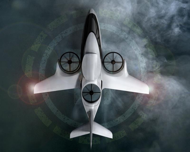 XTI TriFan 600 vertical takeoff airplane prototype 2016 -