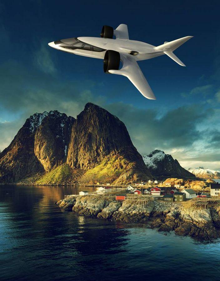 XTI TriFan 600 vertical takeoff airplane prototype 2016 -2luxury2