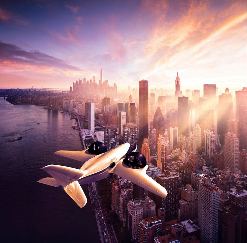 XTI TriFan 600 vertical takeoff airplane prototype 2016 -investing to new heights