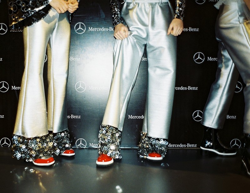 Xavi Reyes FW16 at Mercedes-Benz Fashion Week Madrid backstage