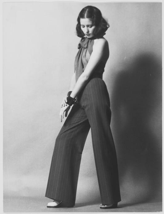YSL 1971 - tailleur pantalon veste, haute couture 1971-