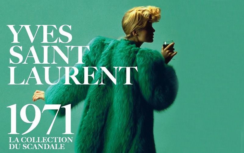 YSL Scandal COllection 1971