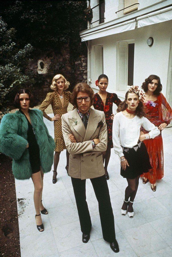 YSL with models