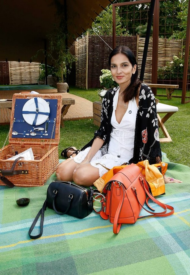 Yasmin Mills attends The Royal Salute Coronation Cup at Guards Polo Club in Windsor Great Park on July 25, 2015