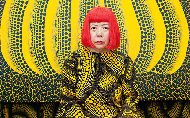 Yayoi Kusama - the most popular artist in 2014